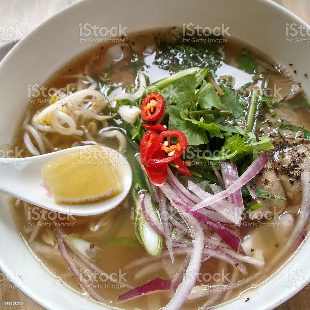 Vietnamese Pho stock photo