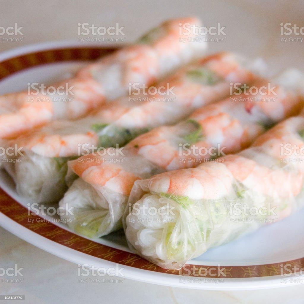 Vietnamese Summer Rolls (Nem) stock photo