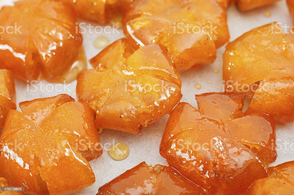 Vietnamese sweetened kumquats stock photo