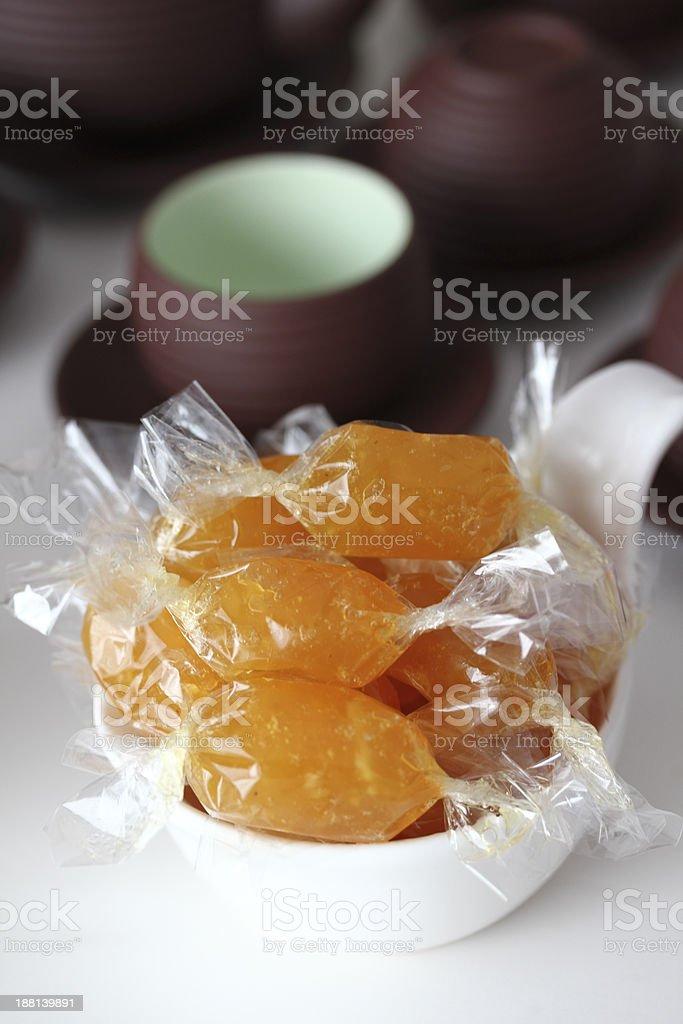 Vietnamese Traditional Food: Sour Sop Marmalade stock photo