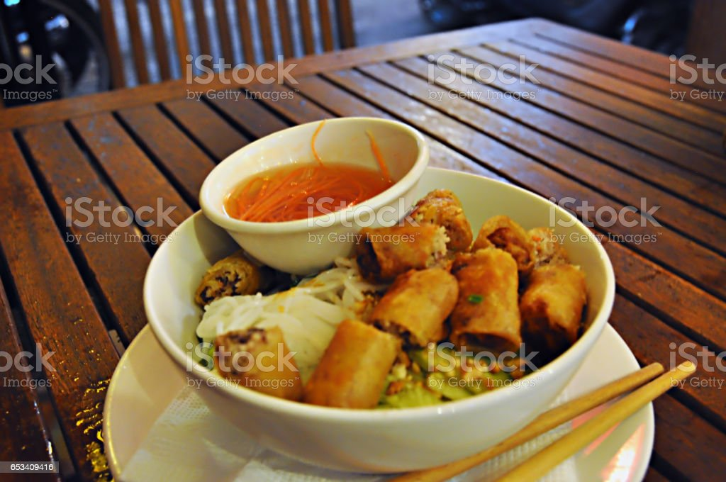Vietnamese Vermicelli stock photo