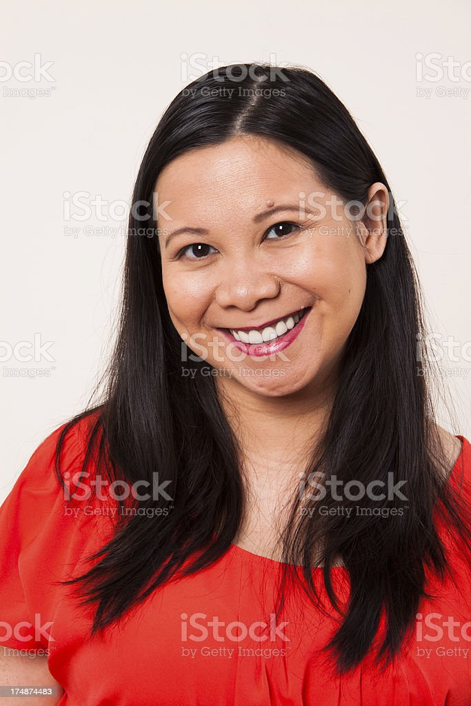 Vietnamese Woman royalty-free stock photo