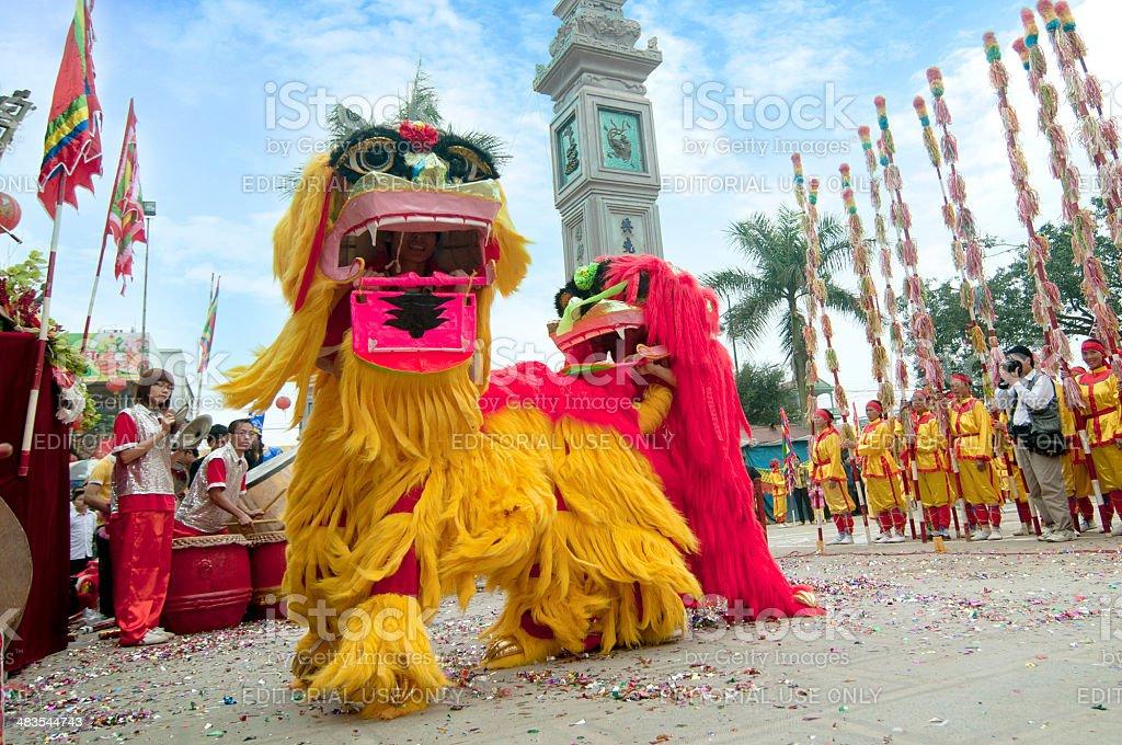Vietnam's Festival royalty-free stock photo