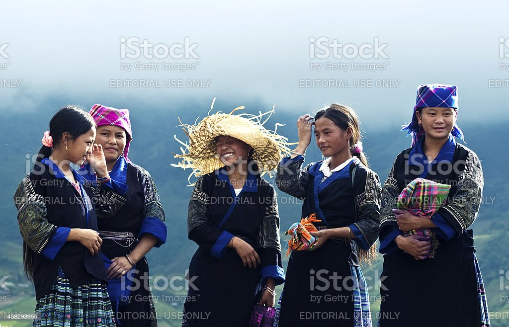 Vietnam's minorities stock photo