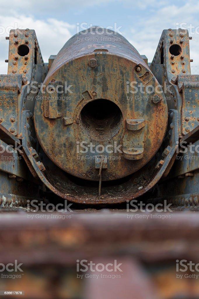 Vieux canon stock photo