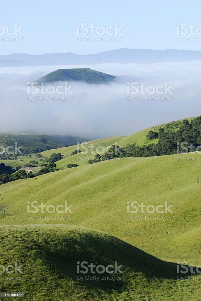 View Above the Clouds royalty-free stock photo