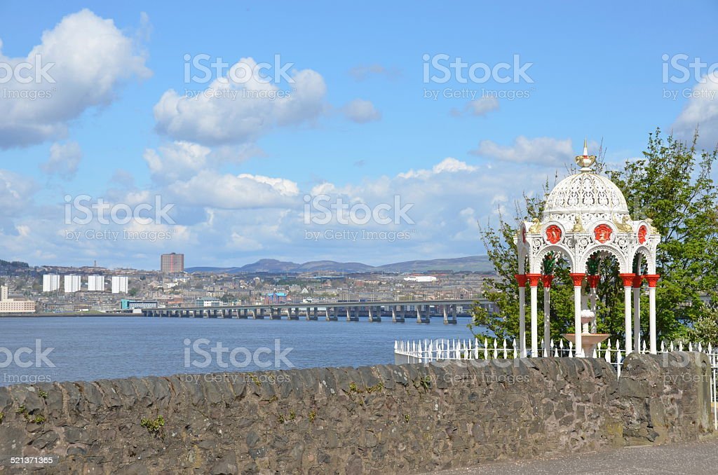 View Across the Tay stock photo