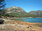 View at Freycinet National Park
