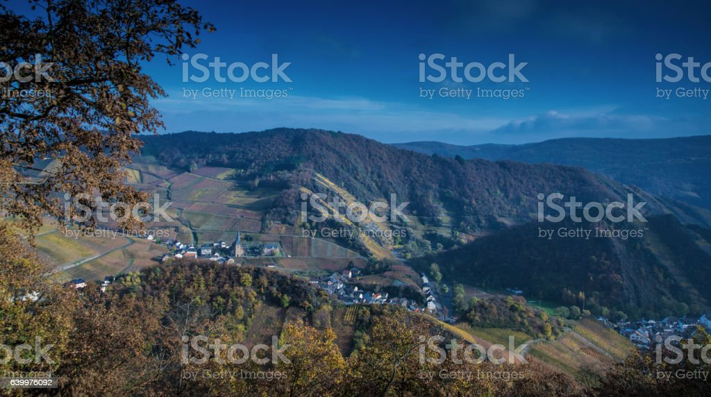 View at Mayschoss stock photo