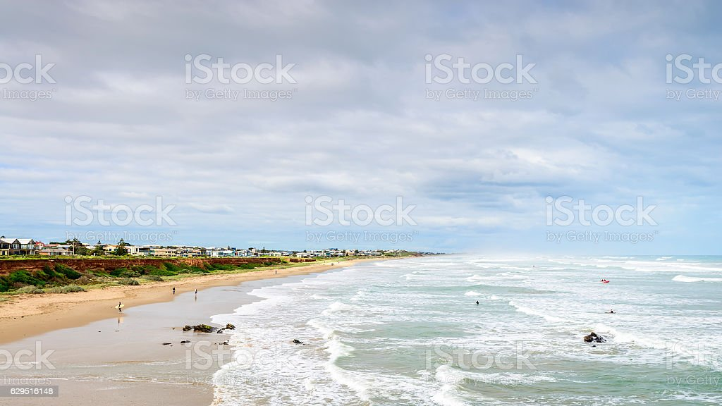 View at Middleton beach stock photo