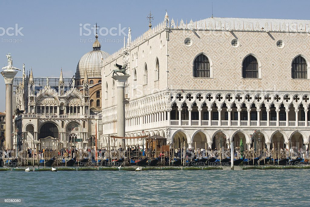 View at San Marco stock photo
