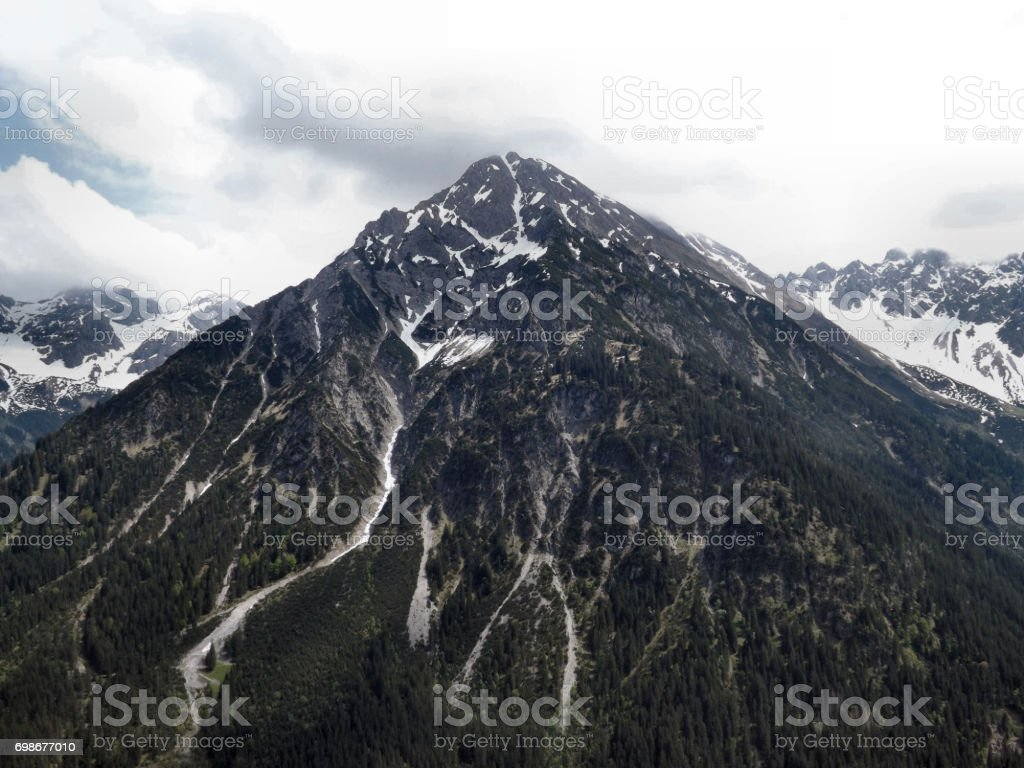 A View at the Alps stock photo