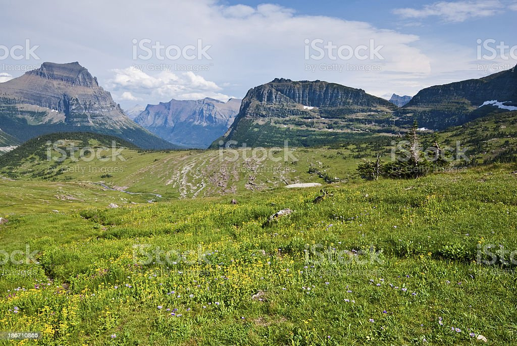 View East from the Continental Divide royalty-free stock photo