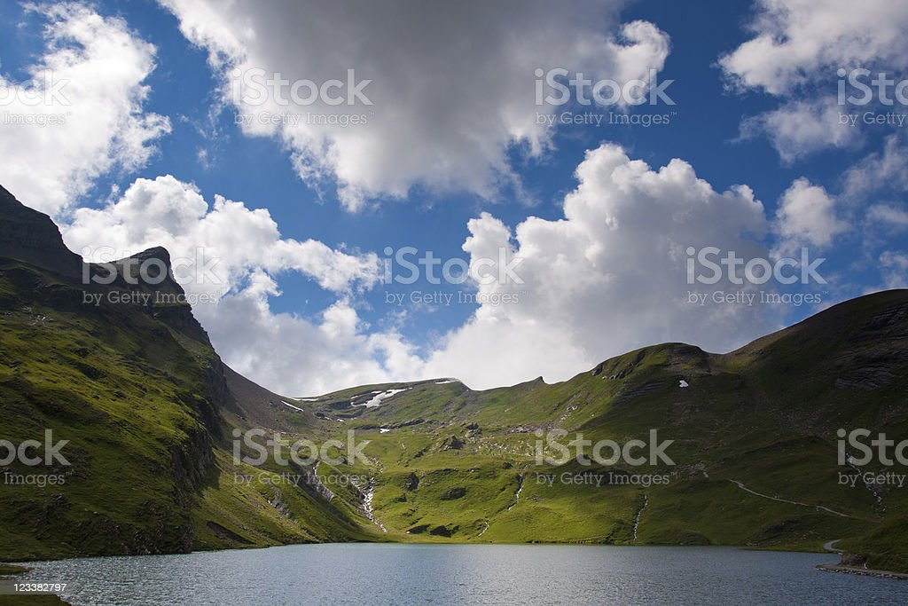 View fom the FIRST mountain royalty-free stock photo
