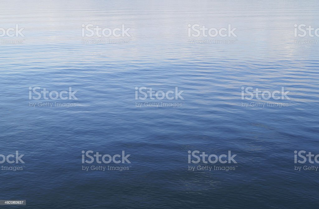 View from a boat on a sea stock photo