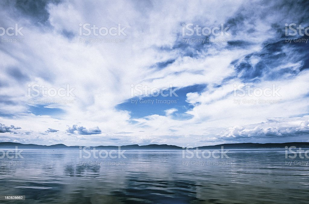 View from a boat royalty-free stock photo