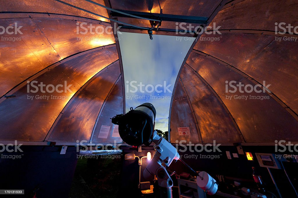 View from an observatory stock photo