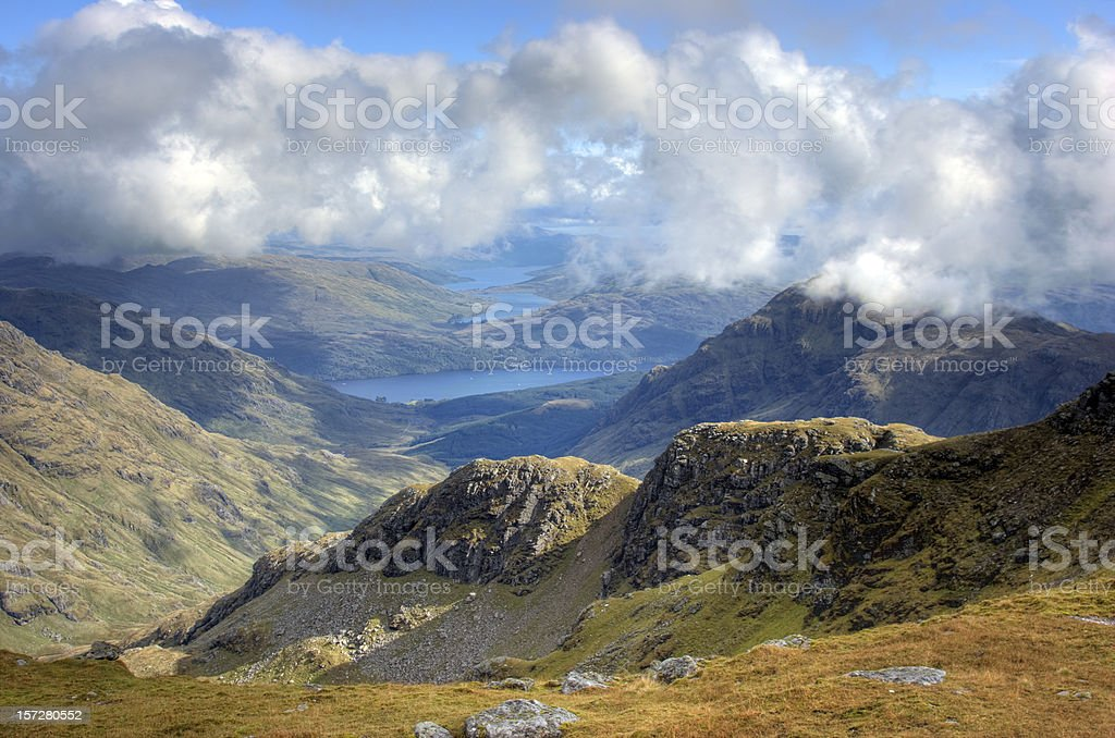 View From Ben Ime royalty-free stock photo