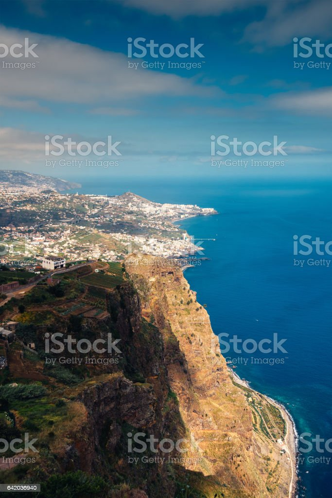 **View From Cabo Girao stock photo
