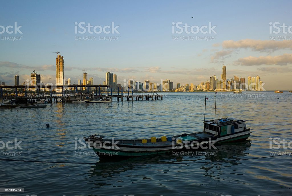 View from Casco Viejo royalty-free stock photo