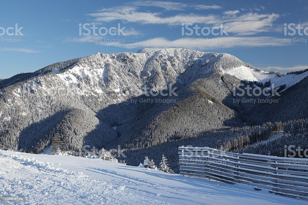 View from Chopok royalty-free stock photo