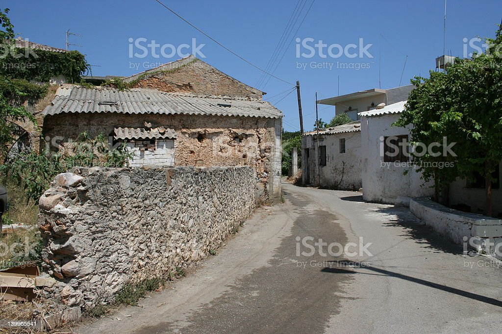 View from Crete royalty-free stock photo