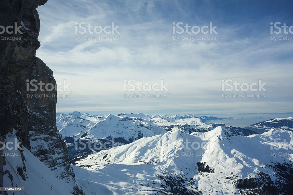 View from Elger royalty-free stock photo