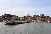 View from Göta Canal to Gothenburg, Sweden Scandinavia