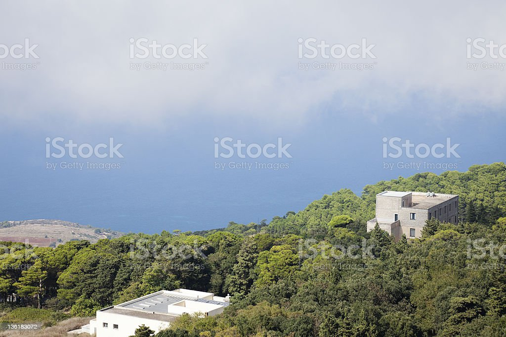 View from Hill. royalty-free stock photo