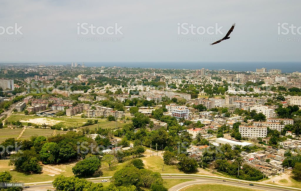 View from Hose Marti monument stock photo