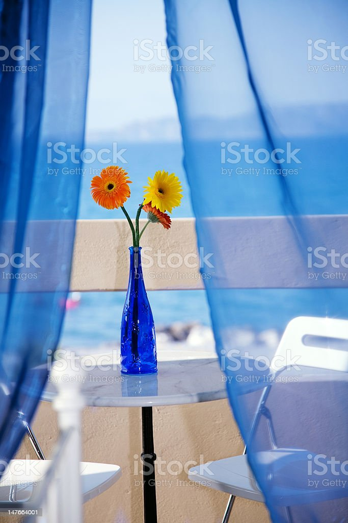 view from hotel room royalty-free stock photo