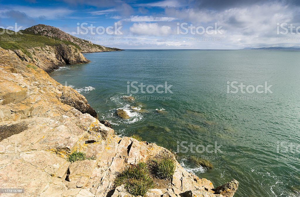 View from Howth Peninsula stock photo