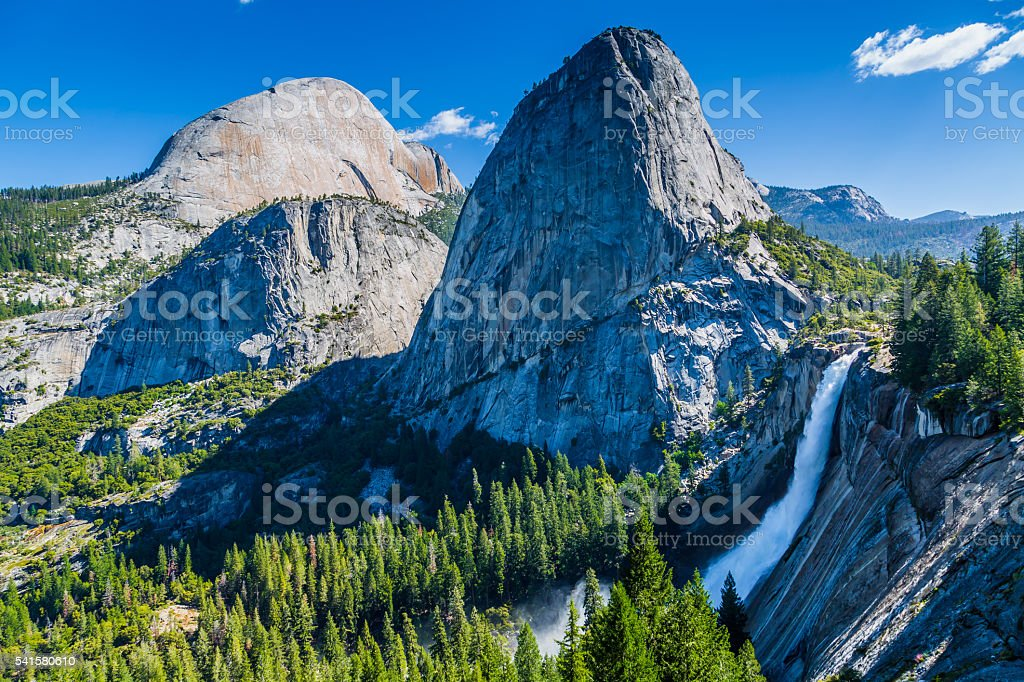 View from John Muir trail stock photo