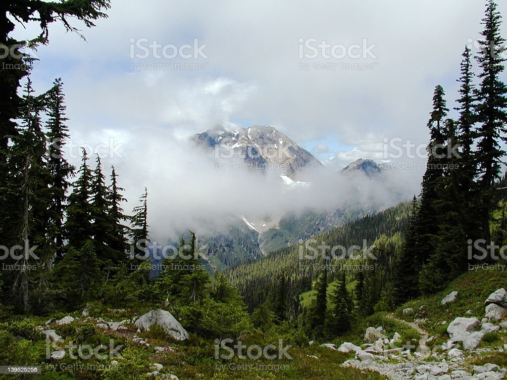 View From La Crosse Pass stock photo