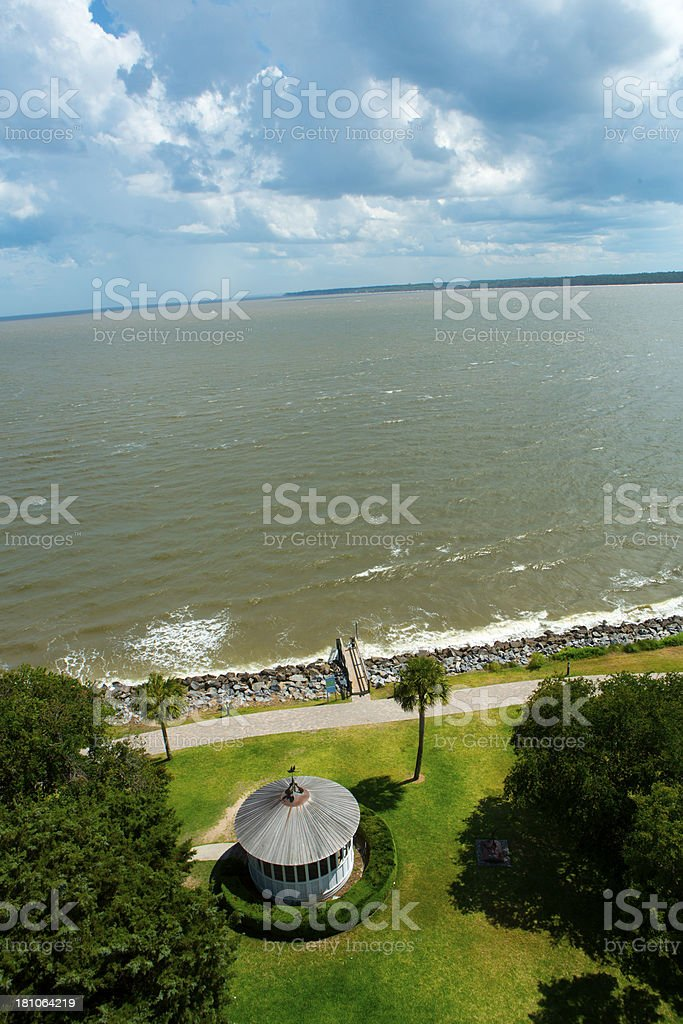 View from Lighthouse royalty-free stock photo