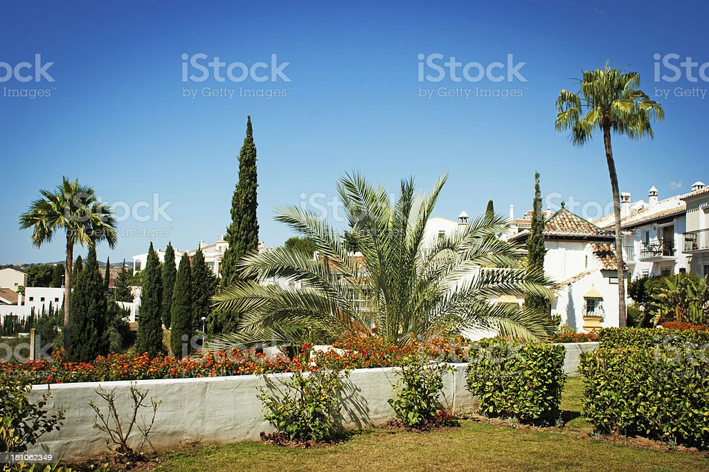 View from Mijas apartment royalty-free stock photo