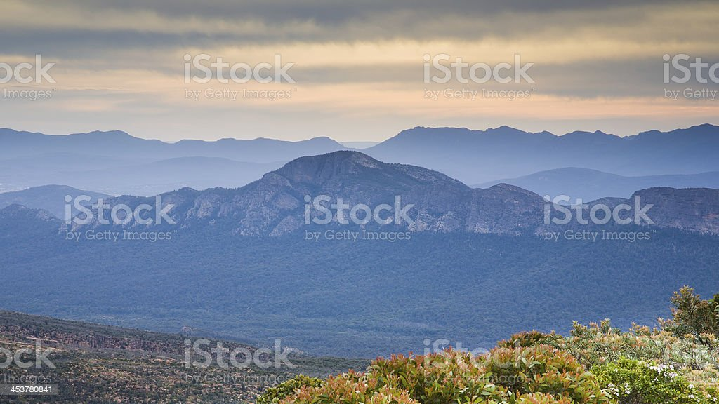 View from Mount William stock photo