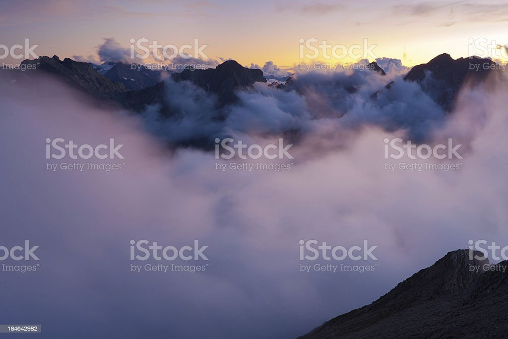 view from mt. seekopf royalty-free stock photo