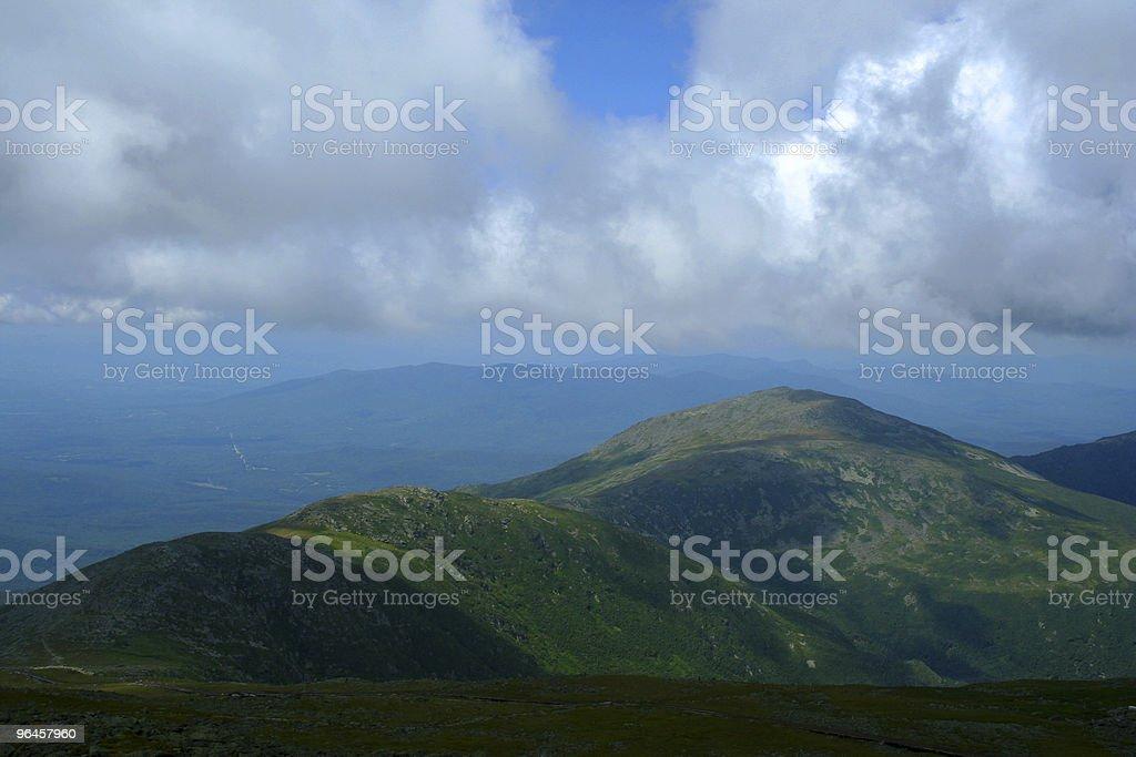 View From Mt Washington stock photo