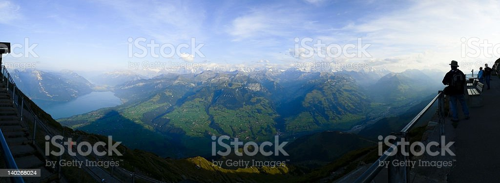 View from Niessen royalty-free stock photo