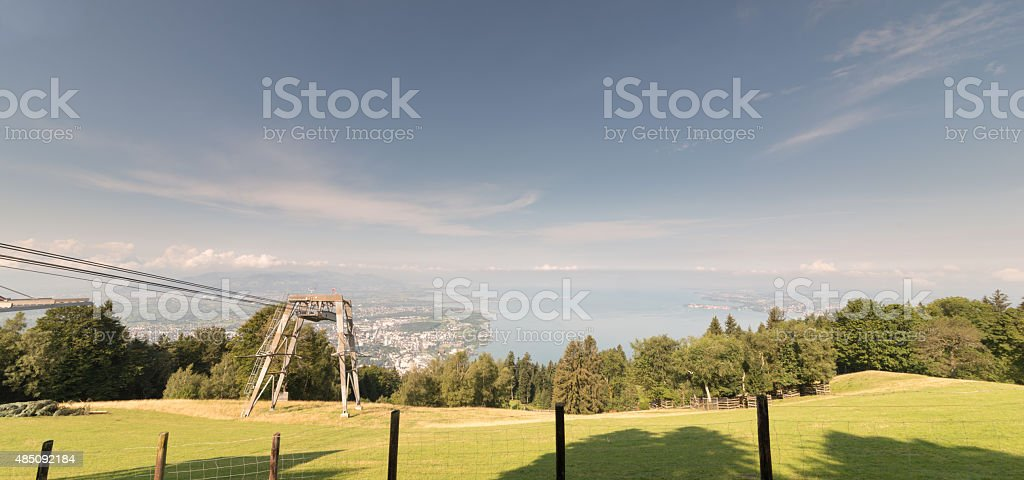 View from Pf?nder, Austria stock photo