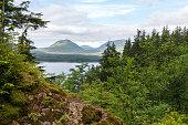 View from Rainbird Trail in Ketchikan Alaska