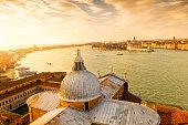 View from San Giorgio Maggiore-Venice, Italy
