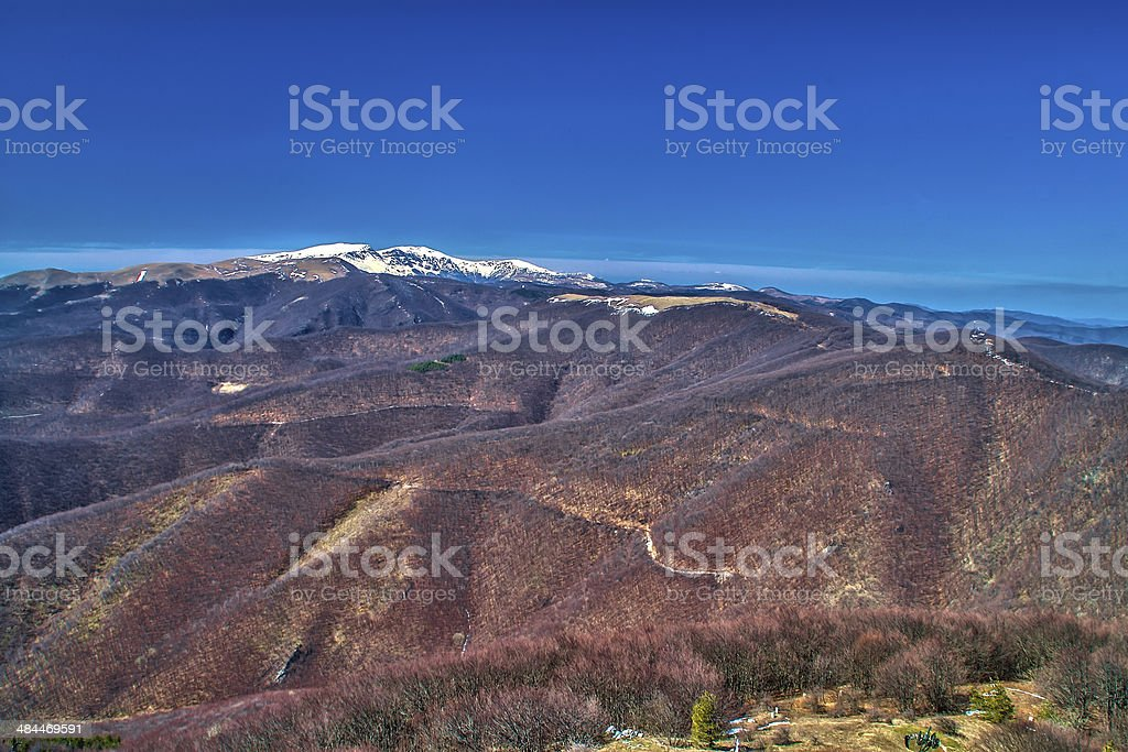 View from Shipka stock photo