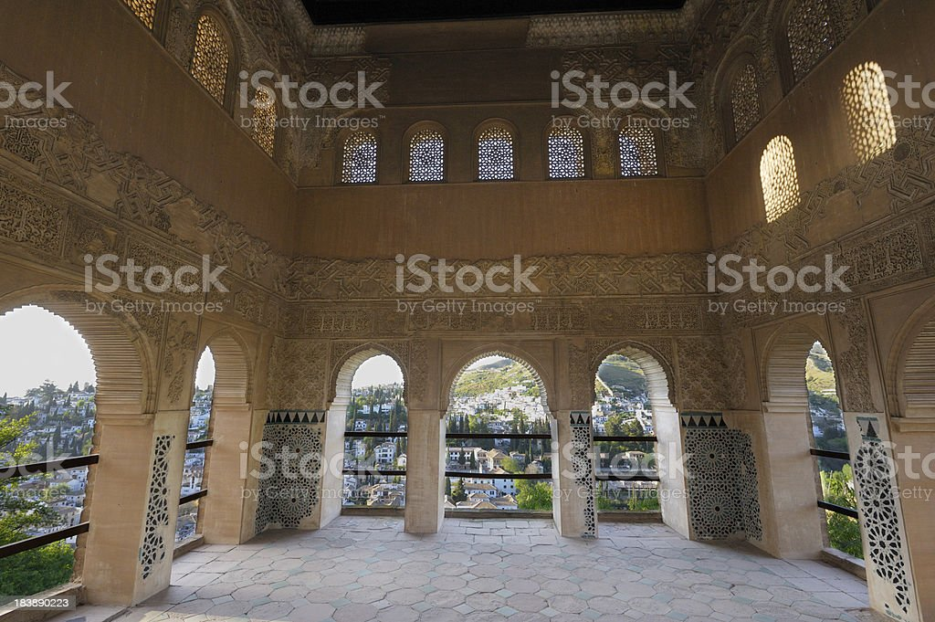 View from the Alhambra, Granada stock photo
