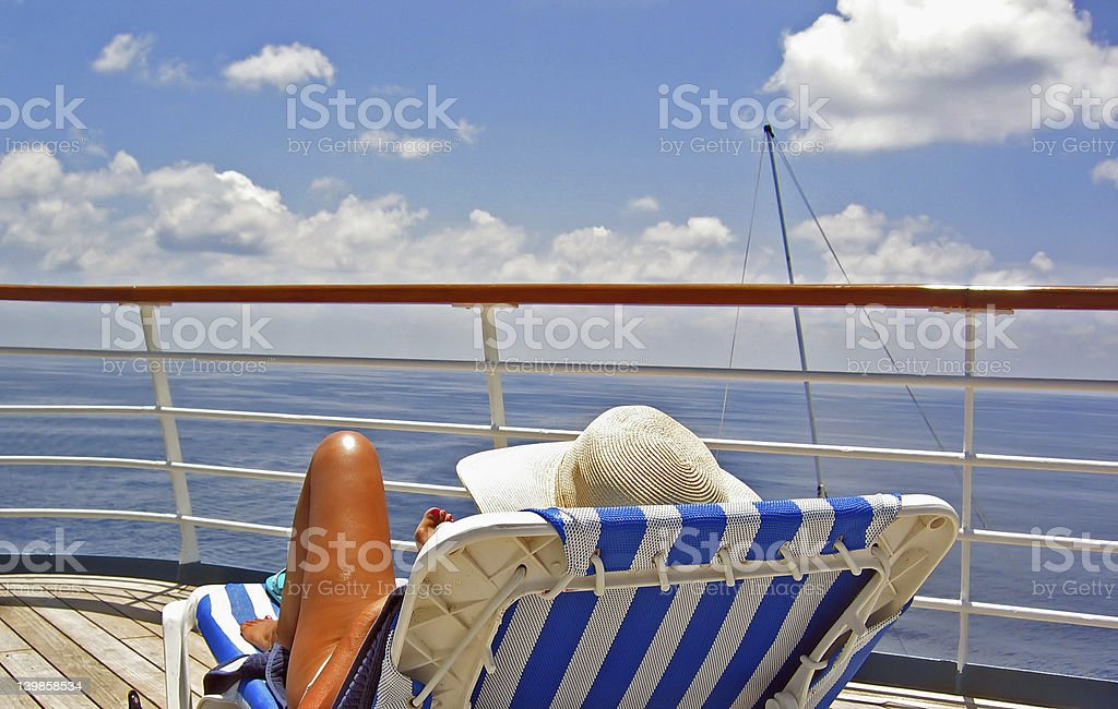View from the Cruise Deck royalty-free stock photo