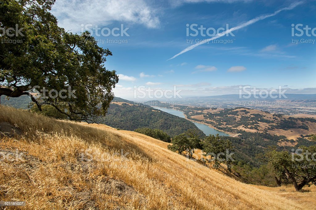 view from the hills stock photo