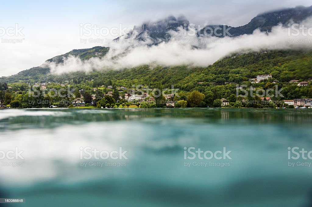 view from the lake royalty-free stock photo