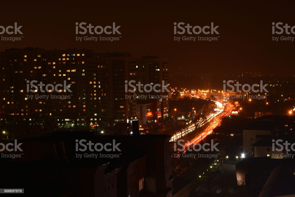 view from the roof royalty-free stock photo