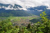 View from the top of Harder Kulm.